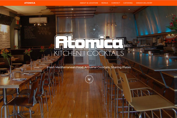 Revue Design, Belleville - Website Design for Atomica